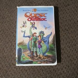 Accents - Quest for Camelot VHS